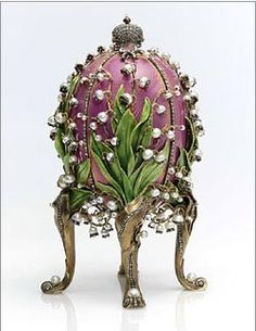 Faberge - Lily of the Valley Egg