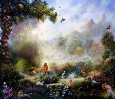 Akiane Kramarik Heaven Garden - Bing Images