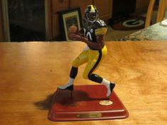 Kordell Stewart Danbury Mint, Pittsburgh Steelers, Action Figures, Nfl, Things To Sell, Sports, Desserts, Hs Sports, Tailgate Desserts