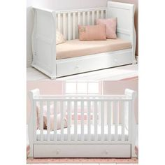East Coast Alaska Sleigh Cot Bed - White + Underbed Drawer! | Google Shopping