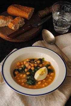 Cocinando con Neus: Potaje de garbanzos con espinacas