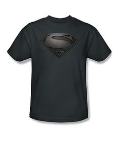 Look at this #zulilyfind! Charcoal Man of Steel Tee - Adult by Superman #zulilyfinds