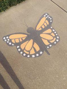 , We're sharing an Easy Sidewalk Chalk Art project that everyone can do. This Mosaic Sidewalk Chal, Chalk Wall, 3d Chalk Art, Chalk Design, Sidewalk Chalk Art, You Draw, Chalkboard Art, Vsco, Tag Art, Chalk Ideas
