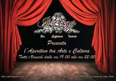Aperitivo al Foyer del Teatro Marrucino di Chieti il 22/05/2015