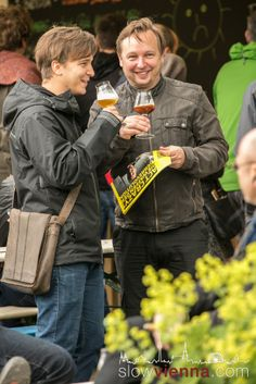 At the festival in May 2014 Craft Beer Fest, Slow Travel, Vienna Austria