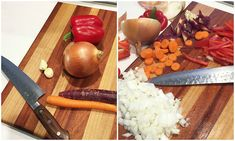 Are you ready, Ninja?!You can prep all this:IN LESS THAN 2.5 MINUTES.(I'll show you how)It's GO time Herbies! Don't chop like a chump ;)Chopping your veggies can be easy and painless -- it all starts with holding the knife correctly.RULE #1: Make sure you're holding your knife right… BY THE BLADE.Start by pinching the blade where it connects to the handle with your thumb and index finger. Some chefs pinch with the middle finger, too. {Either way works.}Your other fingers slip up behind the ....