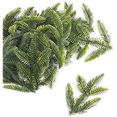 Factory Direct Craft® Package of 48 incredibly realistic Loose Artificial Pine Branches for Holiday and Home Decor and Crafting