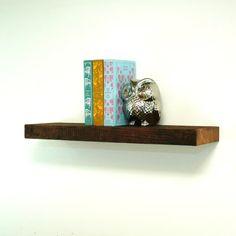 978 48 Quot X 6 25 Quot D X 5 Quot H Reclaimed Floating Wood Shelf
