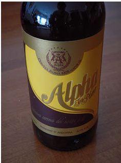 Cerveza ALPHA, La Cortinada, Andorra.