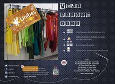 Cliente: Bazar Unibes Anúncio para Revista Agosto de 2013