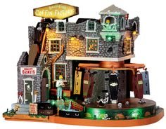 We want this one for our Halloween village! Saw it at Michaels already. Excited!