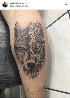 Tattoo Lobo maori
