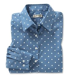 Just found this Button-Front Polka Dot Shirt - Wrinkle-Resistant Polka Dot Shirt -- Orvis on Orvis.com!