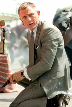 James Bond Grey Suit skyfall