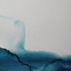 """Koen Lybaert; Watercolor, 2013, Painting """"ambient N°0100"""""""