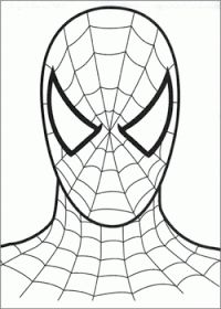Spiderman Symbol Coloring Pages images | Face painting | Pinterest ...