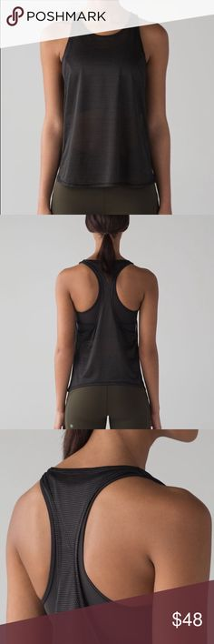 lululemon 'Pushing Limits Tank' Brand New with Tags, size 8 lululemon athletica Tops Tank Tops
