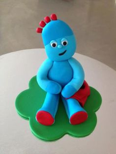 iggle piggle fondant tutorial - Google Search