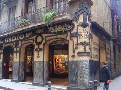 EL INDIO Barcelona, Antique Photos, Life