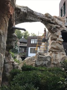 Concrete Wood, Cement, Artificial Rocks, Fake Rock, Concrete Sculpture, Rock Wall, Landscape Walls, Patio Roof, Le Moulin