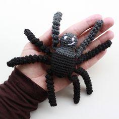 Hæklet edderkop - lille Peter edderkop ✔