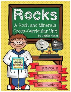 Rocks and Minerals Unit product from Simply-Second on TeachersNotebook.com
