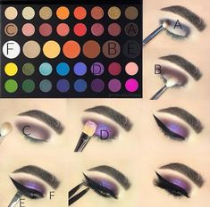Wonderful Photos Makeup Ideas james charles palette Ideas Therefore the largest time frame night time of the year is nearly here' if you want many make u Makeup Eye Looks, Eye Makeup Steps, Cute Makeup, Smokey Eye Makeup, Beauty Makeup, Prom Makeup, Perfect Makeup, Bridal Makeup, Creative Eye Makeup