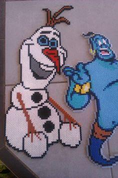 Olaf en perles à repasser