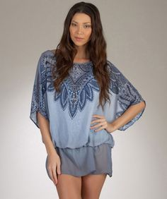 Luxe by Lisa Vogel Featherweight Women's Designer Tunic