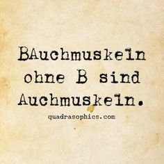 Auchmuskeln (Cool Quotes)