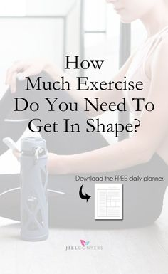 Fitness Tips & Workouts : How much exercise do you *actually* need to get in shape? Twenty minutes three t. Easy Workouts, At Home Workouts, Workout Tips, Workout Plans, Health And Wellness, Health Tips, Women's Health, Mental Health, Health Fitness