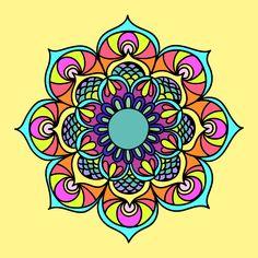 Dibujo en aplicaciones Mandala - Libros para colorear para los adultos! Suscríbete ahora a la gente en las redes socials #coloringmandalasadult