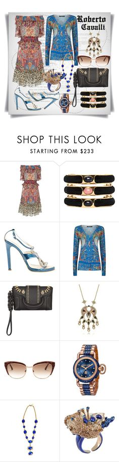 """Roberto Cavalli: Floral"" by imbeauty ❤ liked on Polyvore featuring Roberto Cavalli and robertocavallifloral"