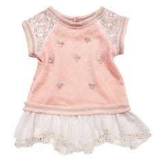 little girl someday :) Little Girl Fashion, Toddler Fashion, Kids Fashion, Boys And Girls Clothes, Cute Baby Clothes, Infant Toddler, Toddler Girls, Stylish Baby Girls, Toddler Girl Shorts