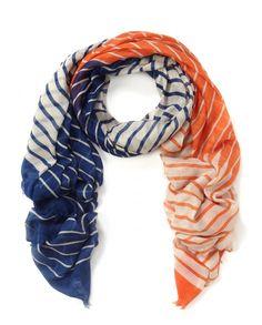 Becksondergaard Irregular stripes scarf - Atterley Road