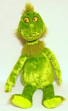 Dr. Suess THE GRINCH Who Stole Christmas Stuffed Plush Toy Doll #KohlsCaresforKids
