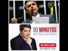 90 Minutos: Datena entrevista Jair Bolsonaro