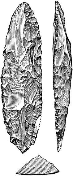 Flint Stone Tools Stone Age People, Flint Stone, Stone Age Tools, Tool Tattoo, Tatoo, Flint Knapping, Indian Artifacts, Drawing Tools, People Illustration