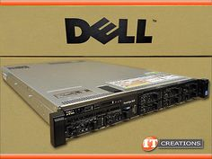 DELL R620 8 BAY SERVER TWO E5-2680 2.70GHZ 8GB 7 X 600GB 15K SAS H710