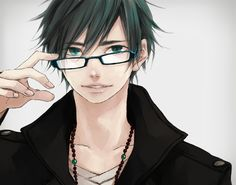 Anime guys with glasses ~♥