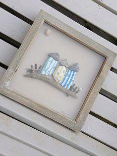 Pebble Art. Pebble Beach House. Beach Houses. by CalicoandCotton