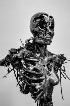 "Regardt van der Meulen South-African born sculptor. | ""Ephemeral"""