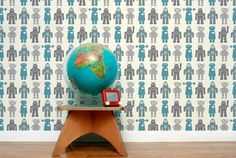 Robot wallpaper... Too cool
