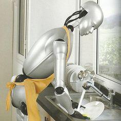 Een sterk gerobotiseerde maatschappij met inzet van robots op het gebied van zorg, amusement, educatie en transport. Het is geen science fiction meer maar werkelijkheid. Door technisch beter zicht (3D visiesystemen), betere navigatie en mobiliteit, betere spraakherkenning en slimmere interactie door informatie technologie worden robots al op ruime schaal ingezet. Robotics, Inventions, Science Fiction, Sci Fi, Robots, Robot, Science Fiction Books