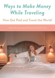 Discover the different ways you could make money while traveling. Learn how to get paid and travel the world. Working Holiday Visa, Working Holidays, Make Money Traveling, Traveling By Yourself, Travel Guides, Travel Tips, Travel Hacks, Travel Advice, Travel Destinations