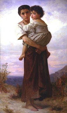 Young Gypsies by William-Adolphe Bouguereau Each painting has a different story. Every peson sees a different ending.