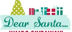 dear santa giveaway graphic