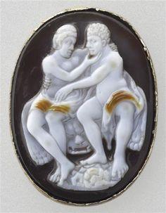 Onyx and carnelian cameo. Symbols Of Strength, Grand Palais, Hercules, Carnelian, Period, Louvre, Museum, Museums