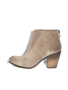 Vince Camuto Graysen Bootie in Smoke Taupe — Shoebox
