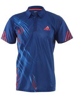 545d96cae adidas Men s Fall adizero Theme Polo Tennis Warehouse